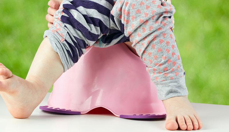 Schritt für Schritt sauberwerden: Ab aufs Töpfchen