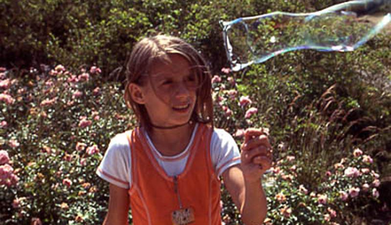 Selbst gemixte Seifenlauge : Seifenblasenkunst
