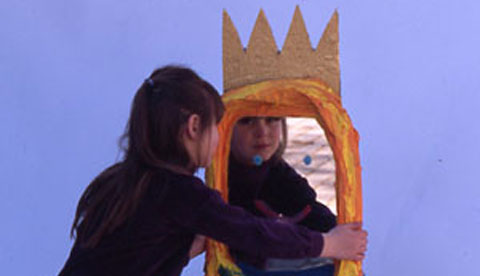 Spiegel fürs Kinderzimmer: Wer ist die Schönste im ganzen Land?