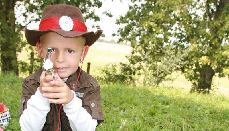 Spielzeugwaffen: Jungs sind die Jäger der Zukunft