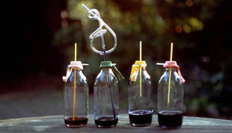 Temperaturanzeige selbst gemacht: Flaschen-Thermometer
