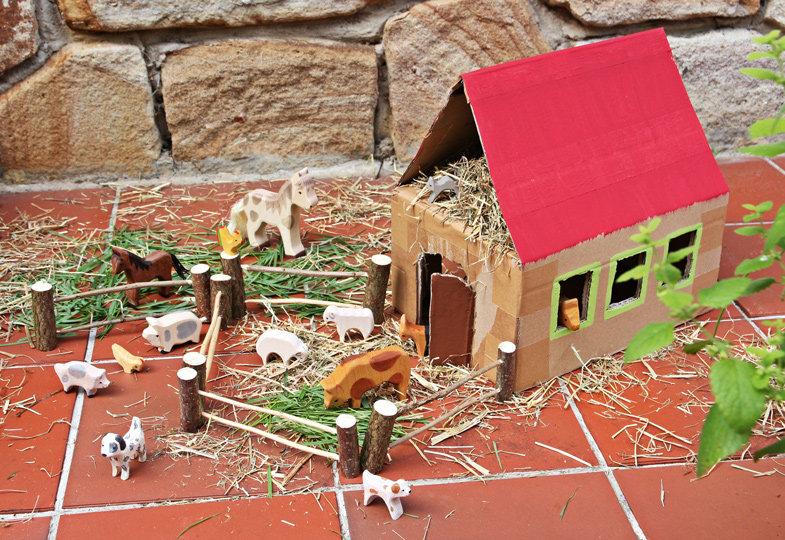 Tiere unterm Dach
