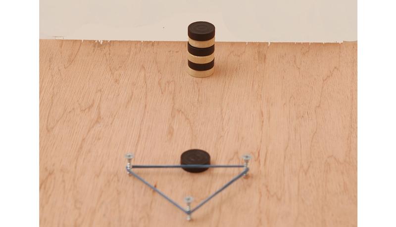 Trick mit Mühlesteinen: Der standhafte Turm