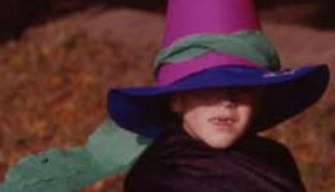 Verkleiden macht Spaß: Einfacher Zauberhut