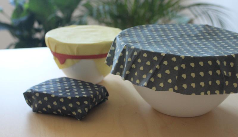 Nachhaltige Frischhaltefolie: Wachstücher selbst gemacht
