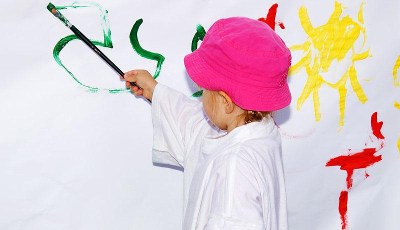 Wenn Kinder malen: Ein Hund, nein, ein Hase