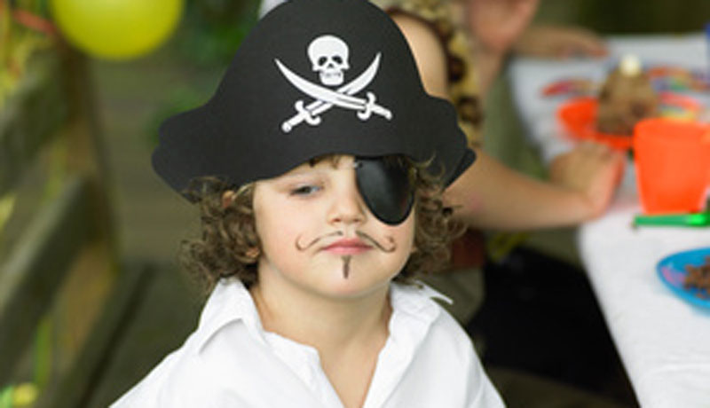Wir feiern ein Piratenfest: Als wilder Seeräuber durch den Fasching