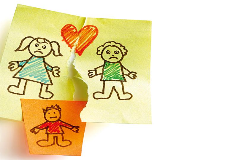 Zusammenraufen für das Kind
