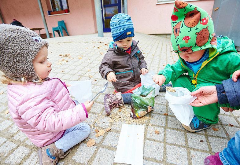 Ein Winterfest für die Tiere