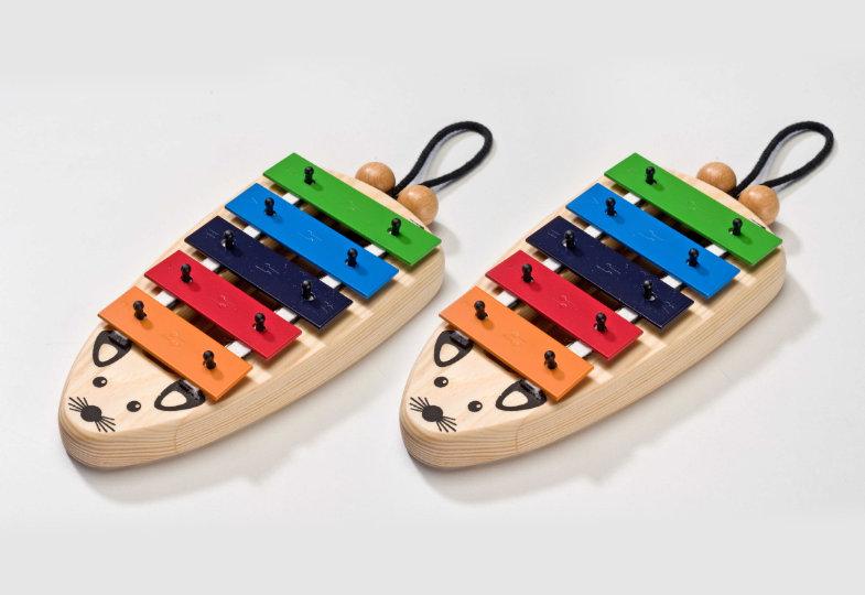 Gewinnspiel: Wir verlosen zwei pentatonische Glockenspielmäuse