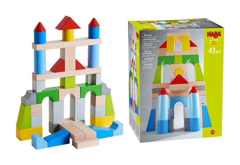 Gewinnspiel: Wir verlosen vier große Grundpackungen HABA®-Bausteine