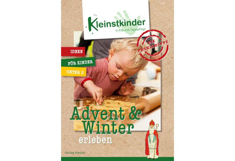 """Wir verlosen dreimal die Kleinstkinder-Praxismappe """"Advent & Winter erleben""""!"""