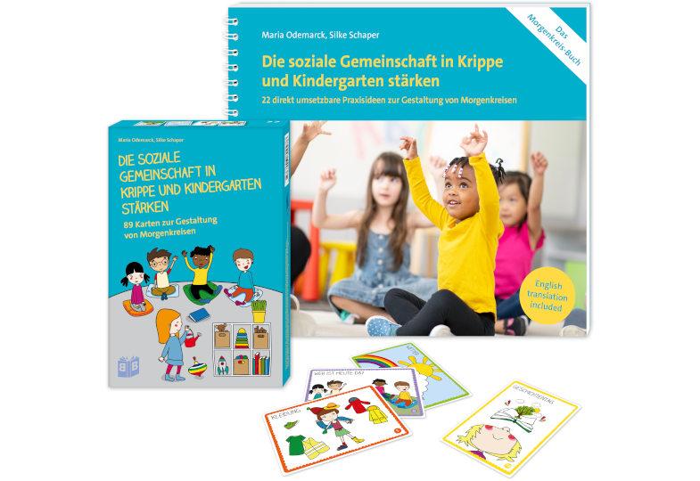 """Gewinnspiel: Wir verlosen dreimal das Morgenkreis-Set """"Die soziale Gemeinschaft in Krippe und Kindergarten stärken"""""""