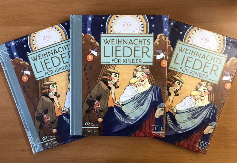 Gewinnspiel: Wir verlosen 3 Weihnachtsliederbücher für Kinder