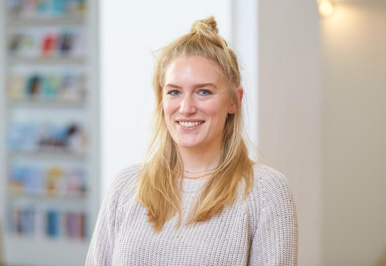 Linn Helbig, Redaktionsassistenz bei der Zeitschrift 'Kleinstkinder in Kita und Tagespflege'