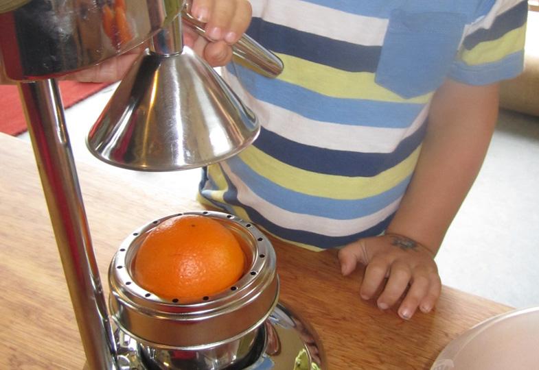 Orangensaft selbst gemacht