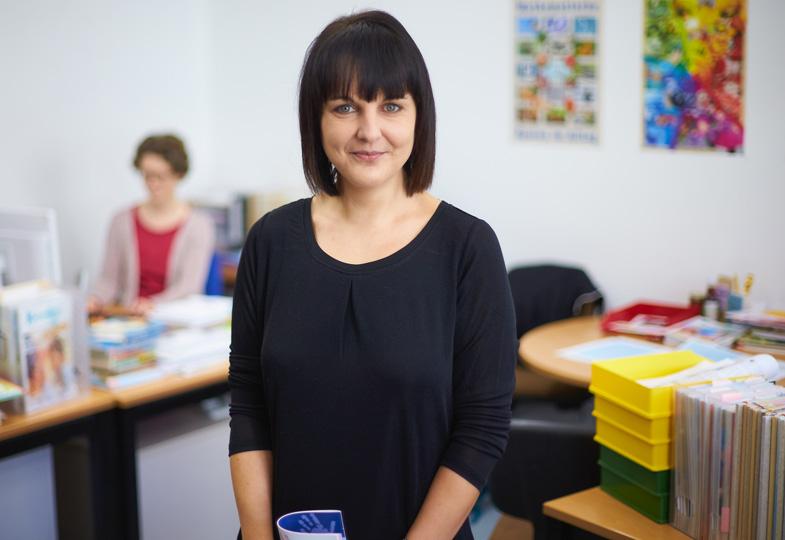 Ulrike Fetzer, Chefredakteurin der Zeitschrift 'Kleinstkinder in Kita und Tagespflege'