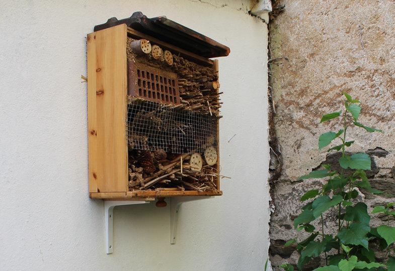Willkommen im Insektenhotel!