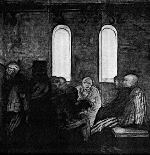 Alfred Hrdlicka, Emmaus - Abendmahl - Ostern (1972)