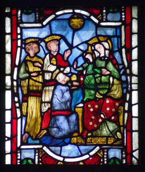 Bildpredigt zu Epiphanias über eine Glasmalerei in der St. Johanniskirche in Herford