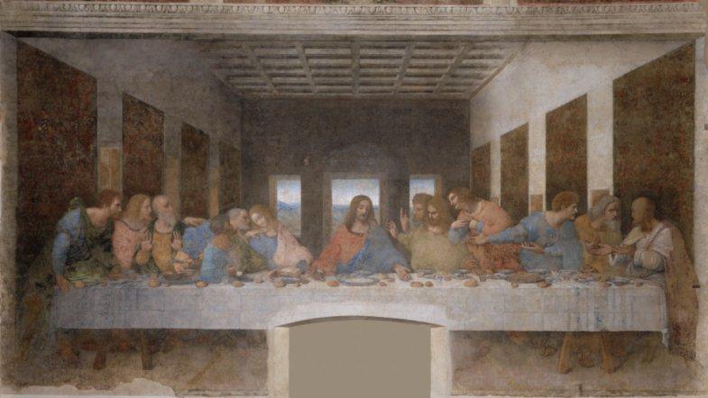 Das Abendmahl von Leonardo DaVinci