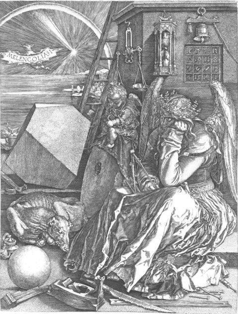 Albrecht Dürer, Melancholie (Melancolia I), (1514)