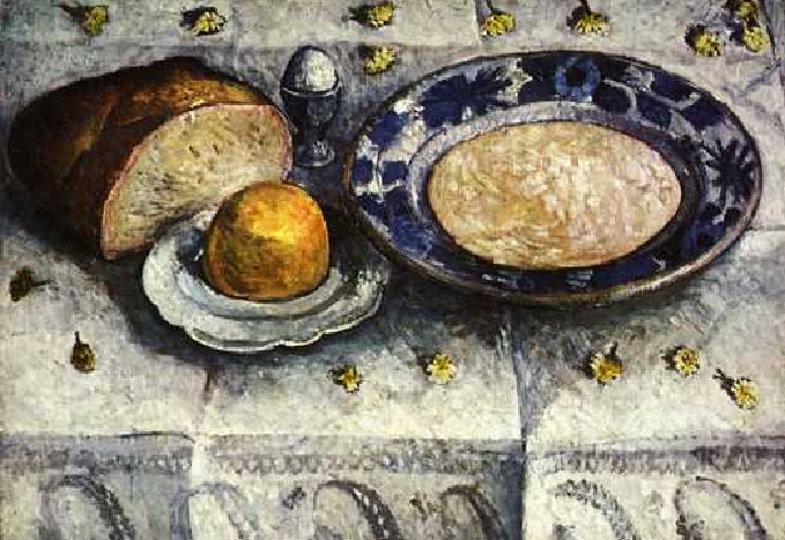 Paula Modersohn-Becker, Frühstückstisch