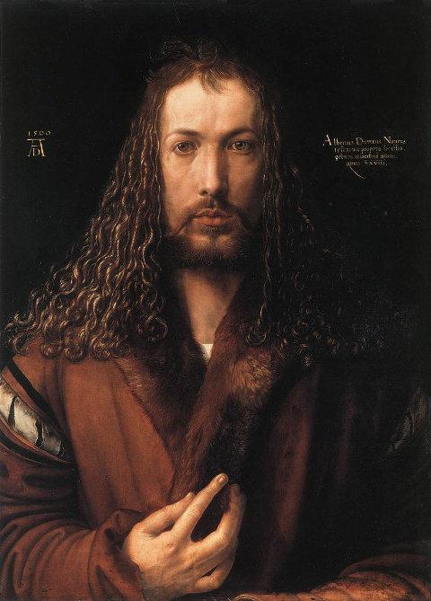 Albrecht Dürer, Selbstbildnis