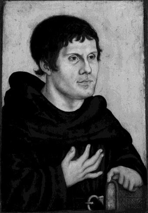 Lucas Cranach der Ältere, Martin Luther