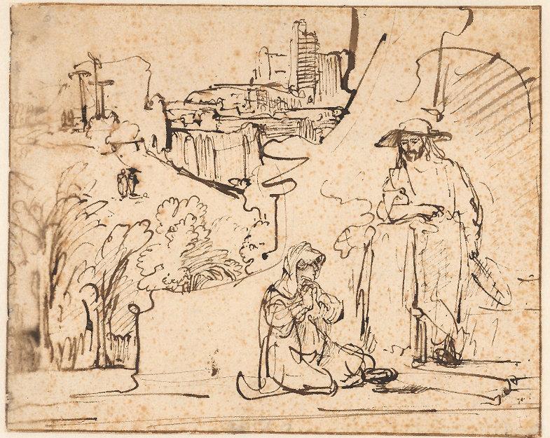 Rembrandt Harmenszoon van Rijn, Noli me tangere