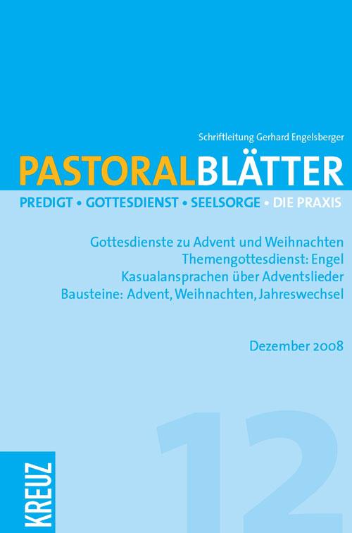 Pastoralblätter 12/2008