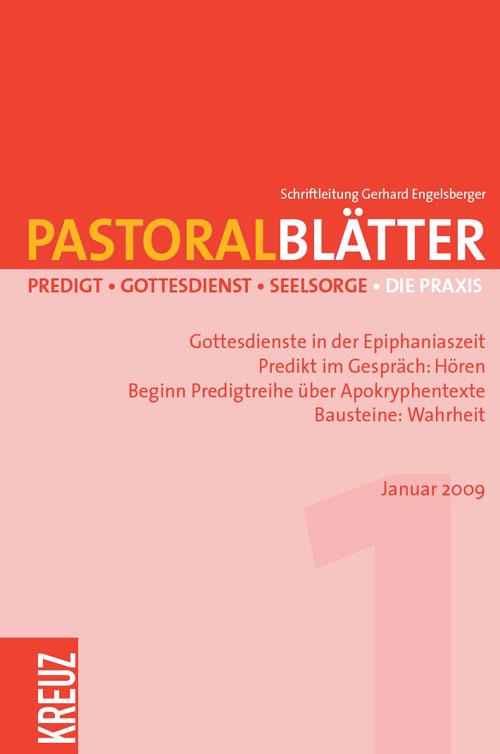 Pastoralblätter 1/2009