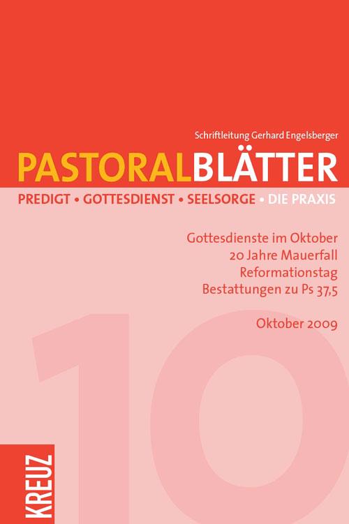 Pastoralblätter 10/2009