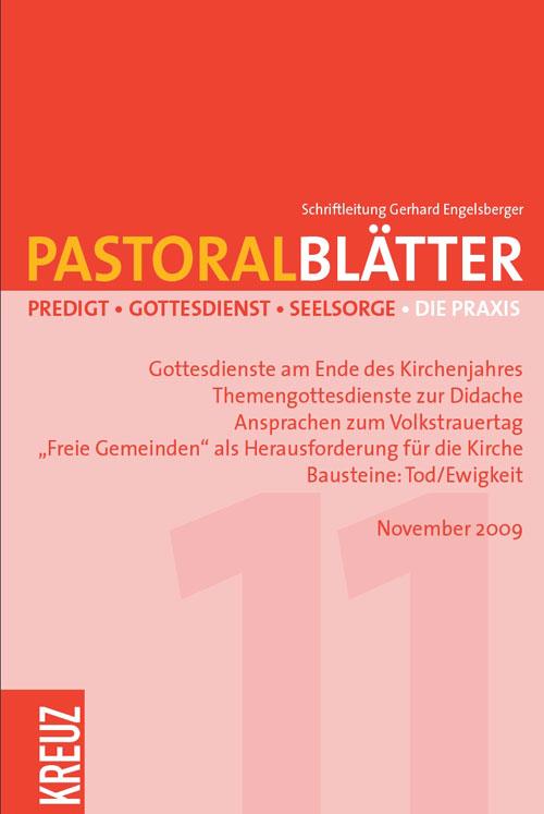 Pastoralblätter 11/2009
