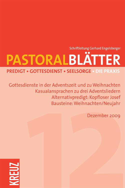 Pastoralblätter 12/2009