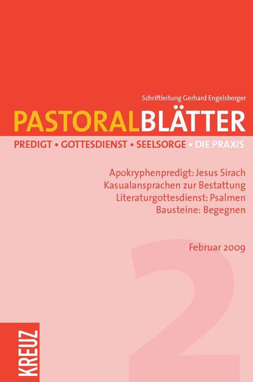 Pastoralblätter 2/2009