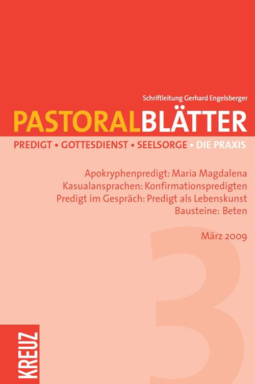 Pastoralblätter 3/2009
