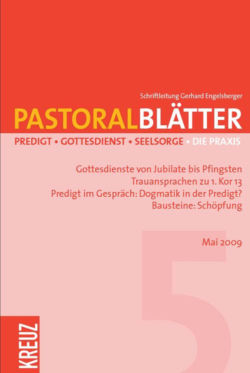 Pastoralblätter 5/2009