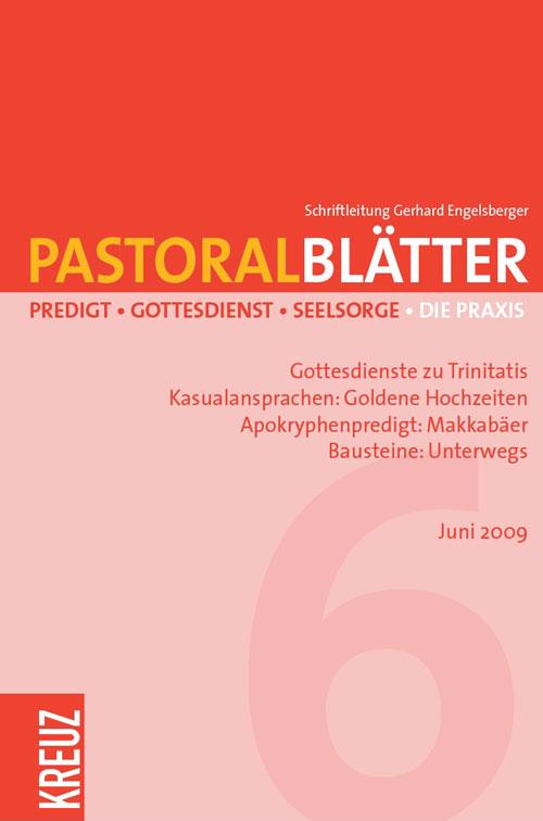 Pastoralblätter 6/2009