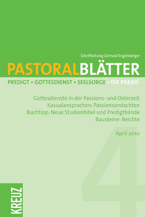 Pastoralblätter 12/2010