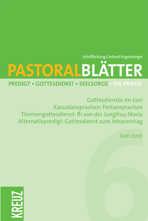 Pastoralblätter 2/2010