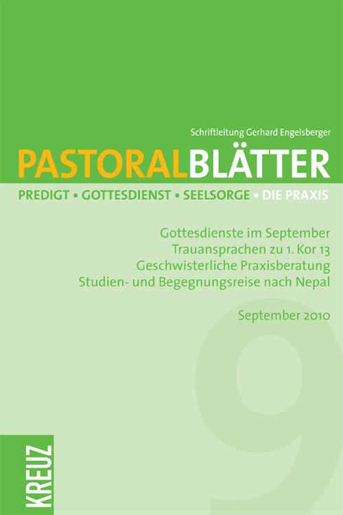 Pastoralblätter 3/2010
