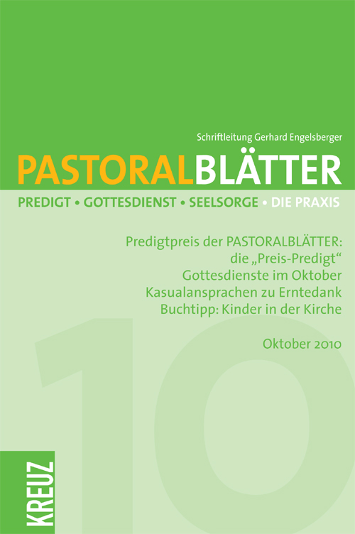 Pastoralblätter 4/2010