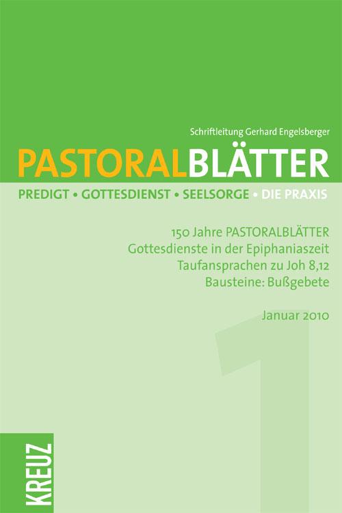 Pastoralblätter 9/2010