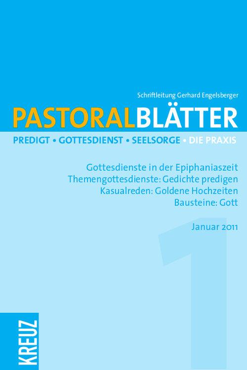 Pastoralblätter 1/2011