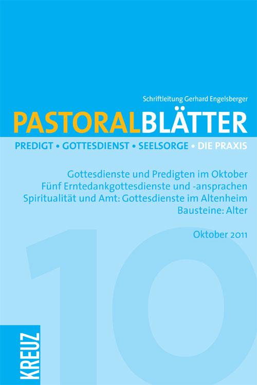Pastoralblätter 10/2011