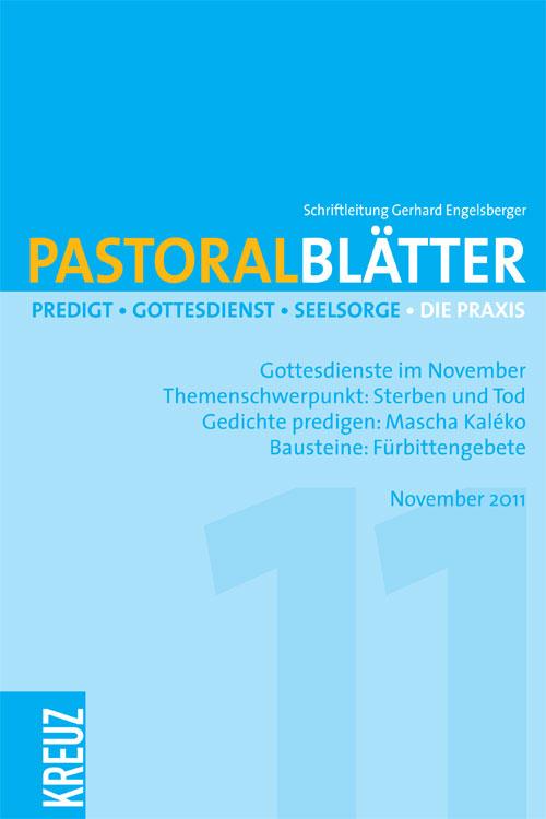 Pastoralblätter 11/2011