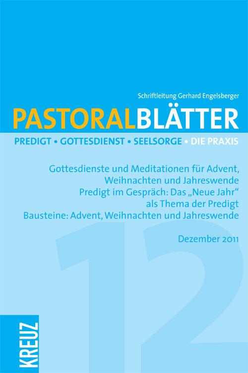 Pastoralblätter 12/2011