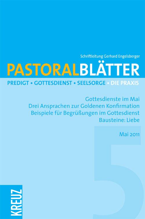 Pastoralblätter 5/2011