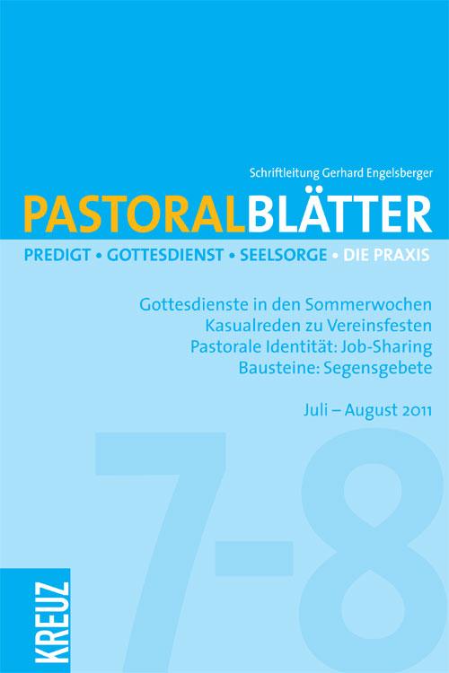 Pastoralblätter 7-8/2011